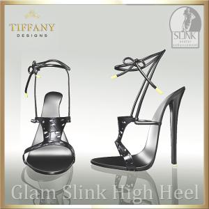 TD Glam Slink Shoes Black
