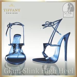 TD Glam Slink Shoes Blue