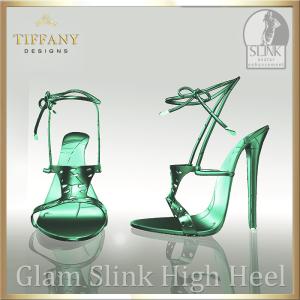 TD Glam Slink Shoes Green