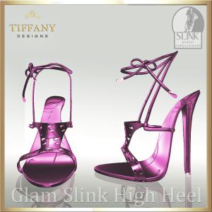 TD Glam Slink Shoes Pink