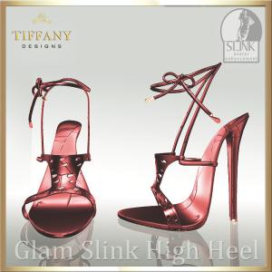 TD Glam Slink Shoes Red