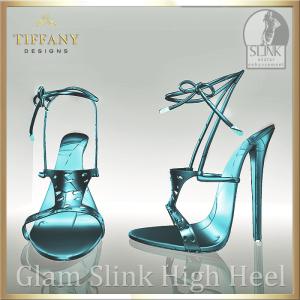 TD Glam Slink Shoes Sky