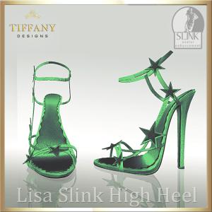 TD Lisa Slink Shoes Green