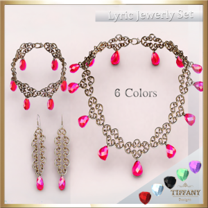 TD Lyric Jewerly Set