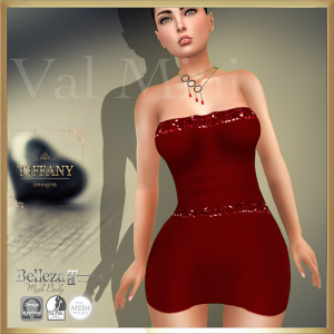 TD Val Mini Dress with Appliers