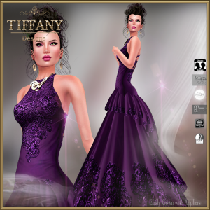 TD Emily Gown with Appliers