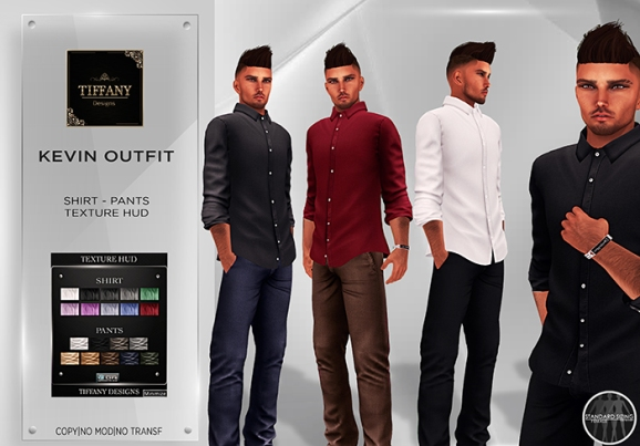TD Kevin Mesh Men Outfit - all colors