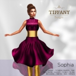 TD Sophia Fitmesh Dress DarkPink