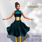 TD Sophia Fitmesh Dress Teal