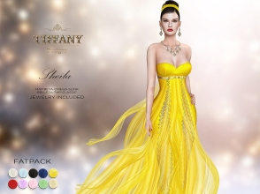 TD Sheila Gown with Appliers FATPACK