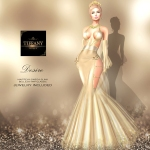 TD Desire Gown with Appliers Cream